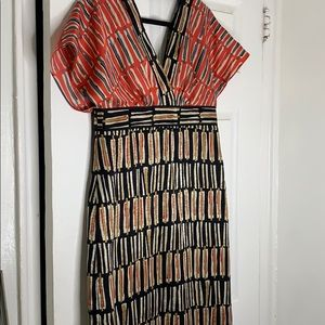 Women's Phoebe Couture Printed Dress Size 10
